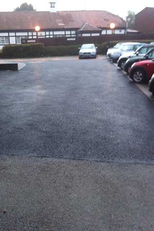 resurfacing of BMW dealership in Burgh Heath