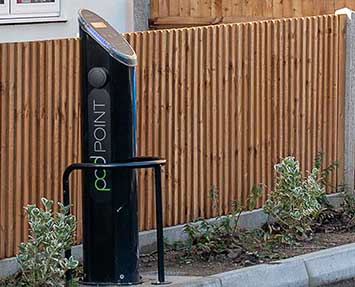 podpoint car charging installation