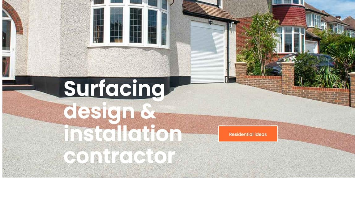 Surfacing design and installation