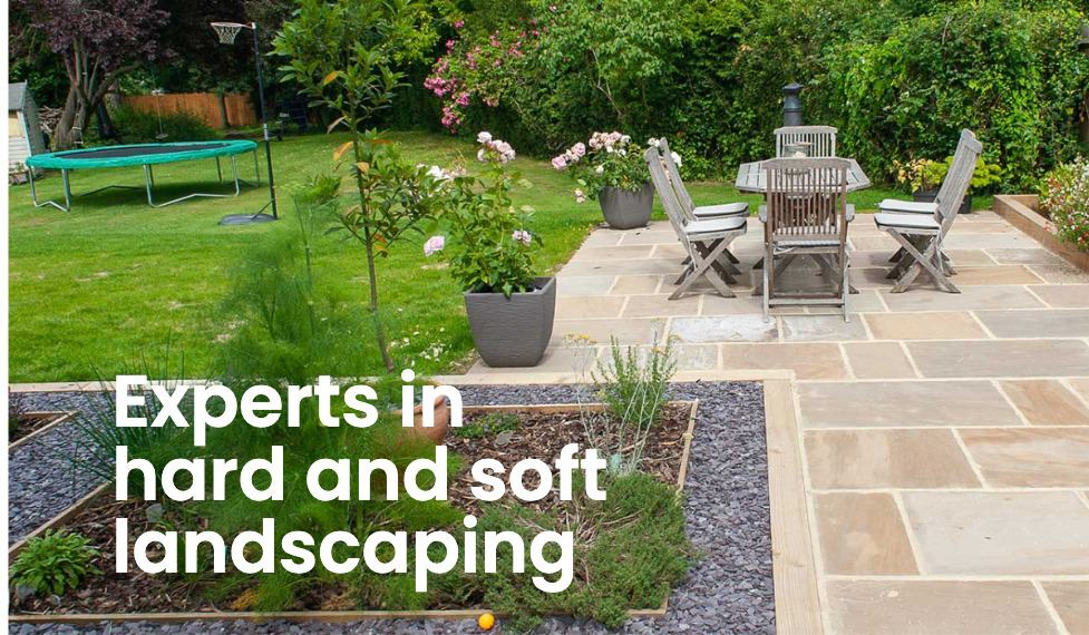 Hard and soft landscaping experts